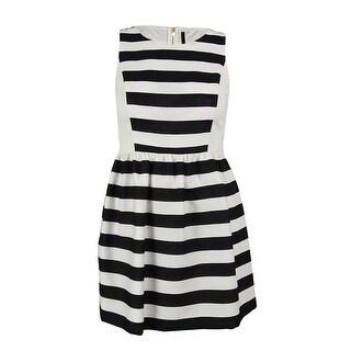 Kensie Women's Striped Fit & Flare Dress (Option: Xxs)