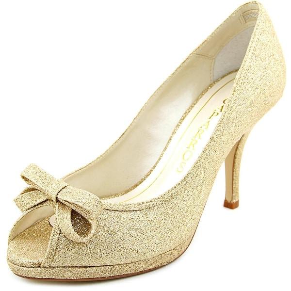 Caparros Impulse Women Gold Flash Pumps