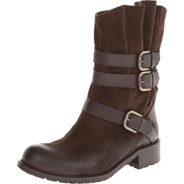 Sesto Meucci Brown Womens Shoes Size 5.5M Blane Mid-Calf Boot