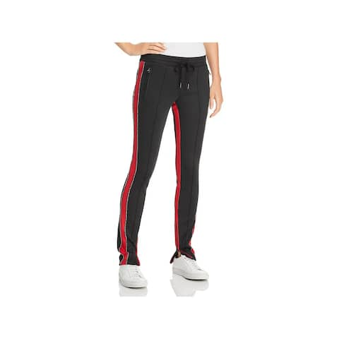 Pam & Gela Womens Track Pants High Rise Fitness - S