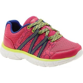 Avia Girls' Avi-Rhea Sneaker Pink Energy/Blue/Highlighter Lime