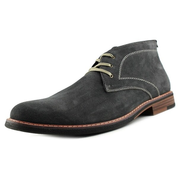Bass Hurley Round Toe Leather Chukka Boot