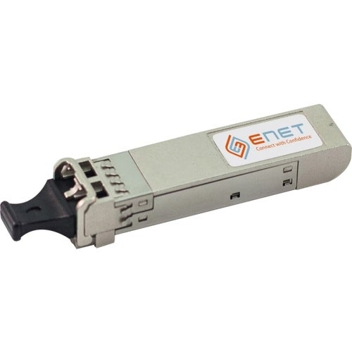 """ENET SFP-10G-ZR-S-ENC ENET 10GBase-ZR SFP+ Transceiver 1550nm SMF 80KM LC Connector - For Data Networking, Optical Network 1 LC"