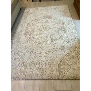 Mohawk Home Loft Francesca Cream Area Rug (5' x 8') - 5' x 8'