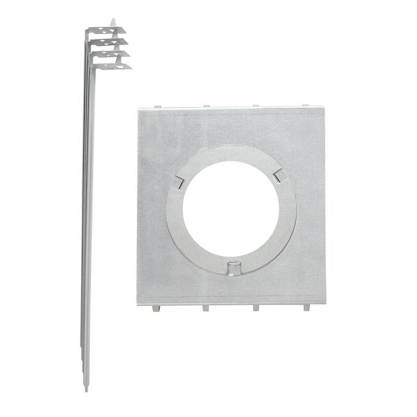 Aluminum Construction Recessed Lighting Mounting Plate 4x12 Hanger Bar