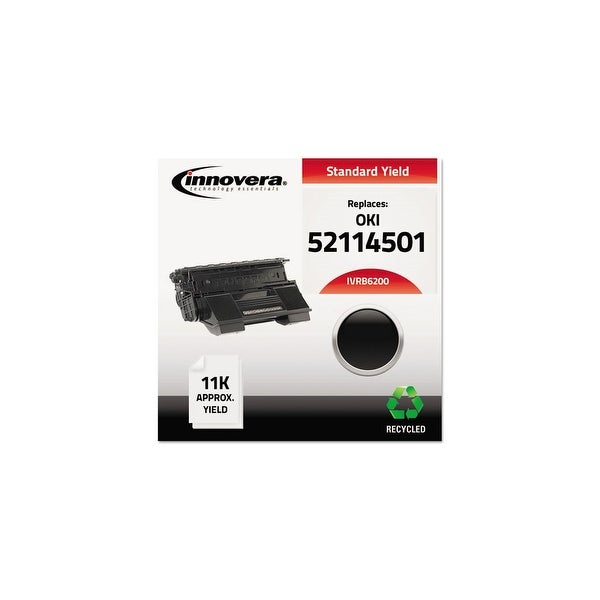 Innovera Remanufactured 52114501 (B6200) Toner, Black Remanufactured 52114501 (B6200) Toner, Black