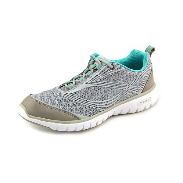 Propet Travellite Women Silver Running Shoes