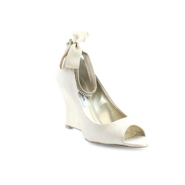 Nina Emma Women's Heels Ivory Crystal