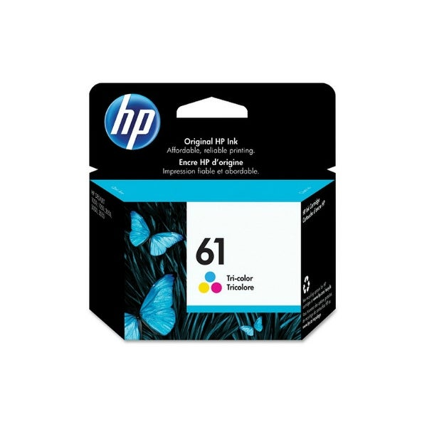 Hewlett Packard CH562WN#140 HP 61 Ink Cartridge - Cyan, Magenta, Yellow - Cyan, Magenta, Yellow - In