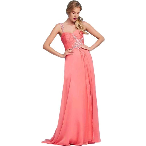 Shop Mac Duggal Womens Formal Dress Chiffon Embellished Free