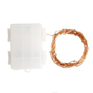 Hometown Evolution Inc 16FT 16.5 Foot Battery Powered (50) LED Diode Indoor/Outdoor Fairy Lights (More options available)