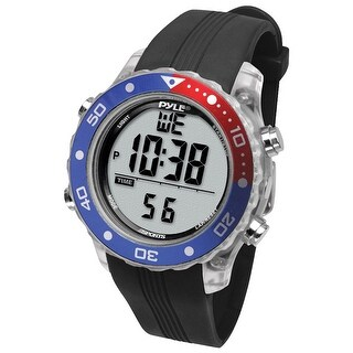 Pyle psnkw30bk pyle snorkeling master sports watch-black - Black