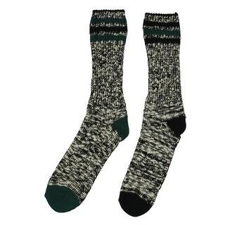 Tommy Hilfiger Mens Crew Socks 2PK Marled - 7-12