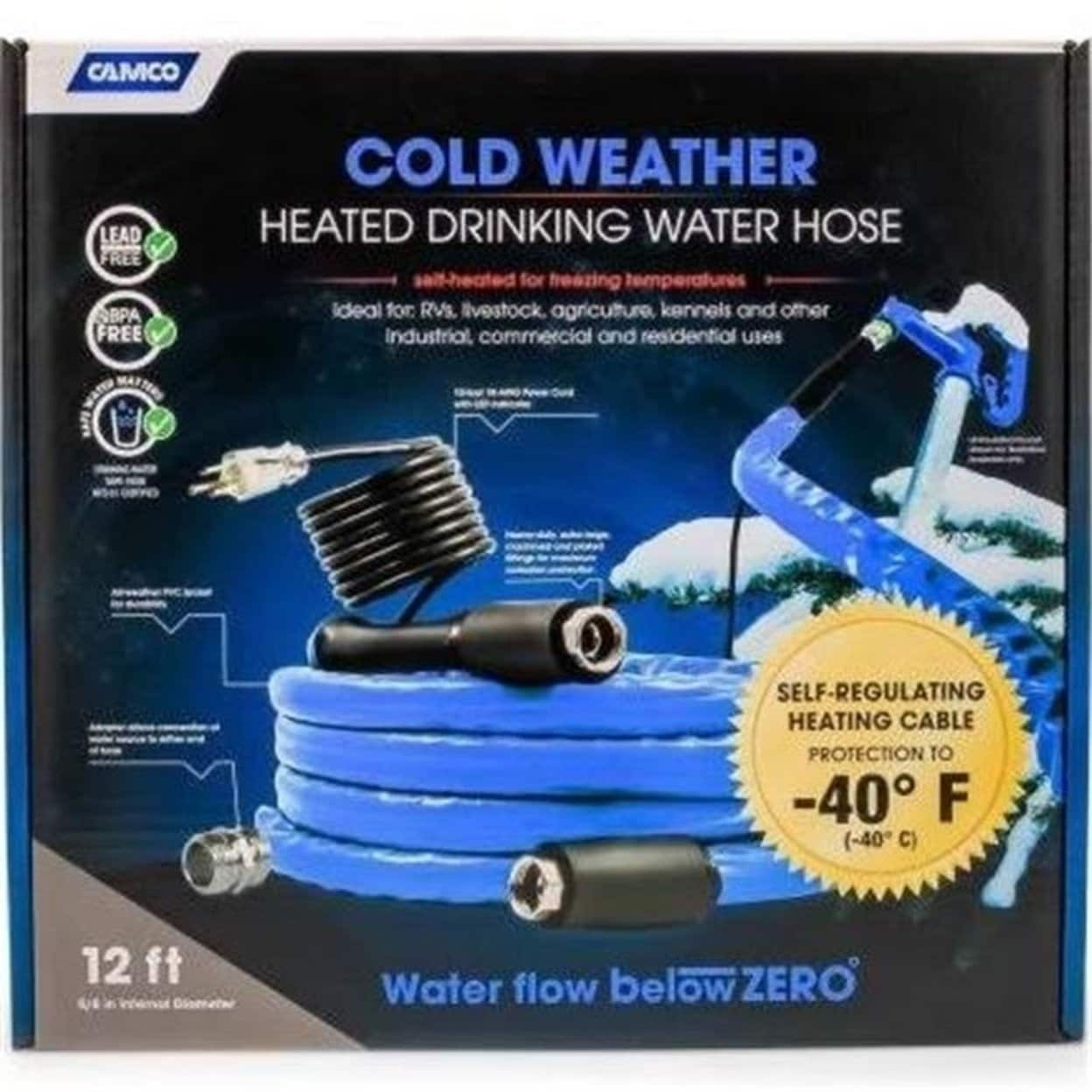Shop Camco C1w 22922 Cold Weather Heated Drinking Water Hose Overstock 27650990