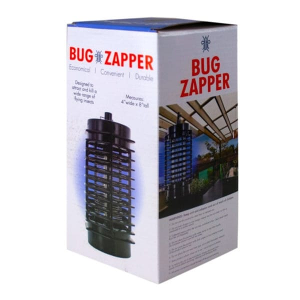 """8.25"""" Black Indoor and Outdoor Insect Bug Zapper - N/A"""
