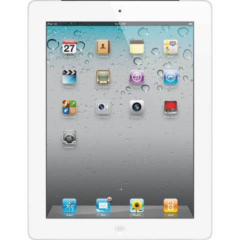 "Apple Ipad 2 with Wi-Fi 9.7"" - 16GB - Black - White (Refurbished)"