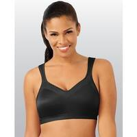Playtex 18 Hour Active Lifestyle Wirefree Bra - Size - 44D - Color - Black