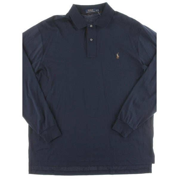 e329f521 Polo Ralph Lauren Mens Big & Tall Casual Shirt Signature Long Sleeves