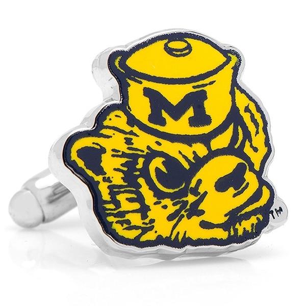 Vintage Michigan Wolverines Cufflinks