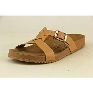 Coolway Sierra Open Toe Leather Slides Sandal