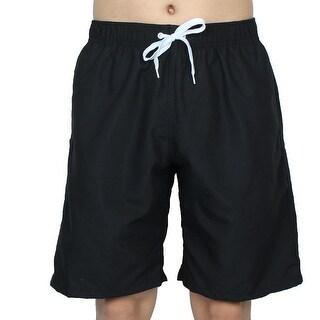Chetstyle Authorized Adult Men Summer Swimming Shorts Swim Trunks Black W 30