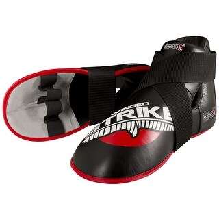 Hayabusa Winged Strike Competition Kicks Sparring Shoes - Black - mma karate