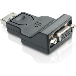 """Comprehensive DPM-VGAF Comprehensive DisplayPort Male to VGA Female Adapter - 1 x DisplayPort Male Digital Audio/Video - 1 x"
