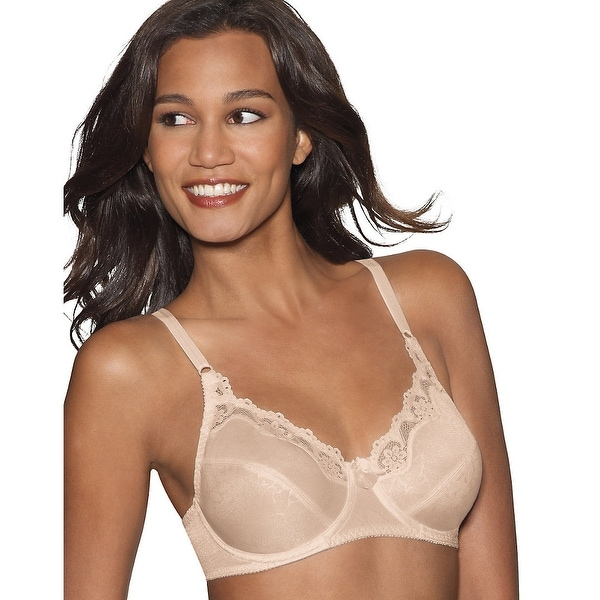 Hanes Everyday Classic Underwire 2-Pack - Size - 38D - Color - White/Nude