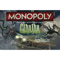 Cthulhu Collector's Edition Monopoly Board Game - multi