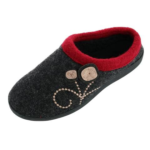 Acorn Women's Boiled Wool Dara Mule Slipper