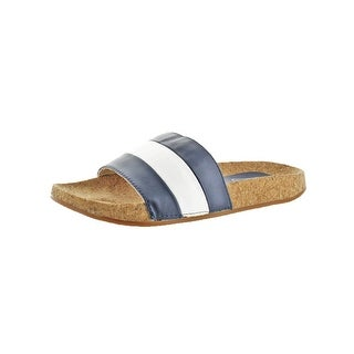 L4L by Lust for Life Womens Affect Slide Sandals Cork Casual