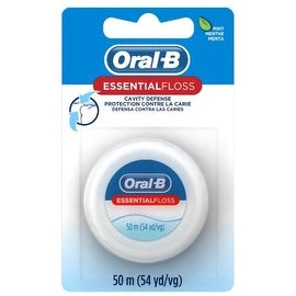 Oral-B EssentialFloss Waxed Mint 55 Yards
