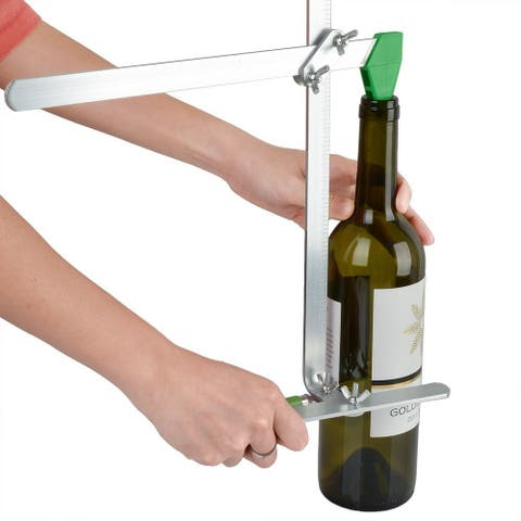 Image Glass Bottle Cutter Kit Stained Cutting Tool Recycles Wine Bottle Jar Up to 6 Gallons - SIZE
