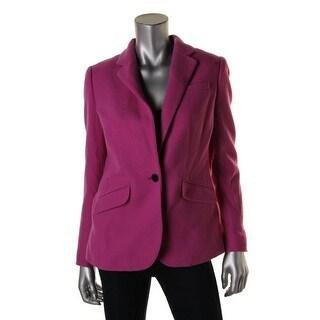 Lauren Ralph Lauren Womens Wool Peak Label Blazer - 8