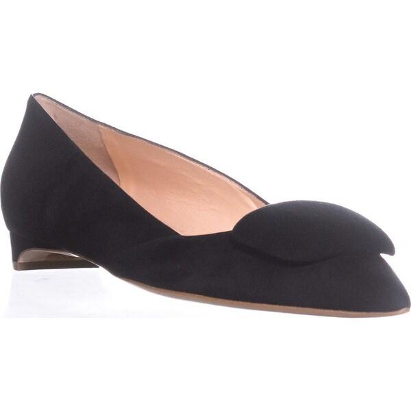 Rupert Sanderson Aga Kitten Heels, Black - 8.5 us / 38.5 eu