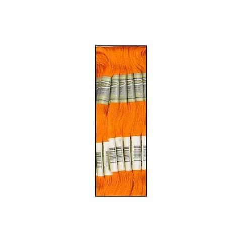 45168 sullivans emb floss 8 7yd med orange spice