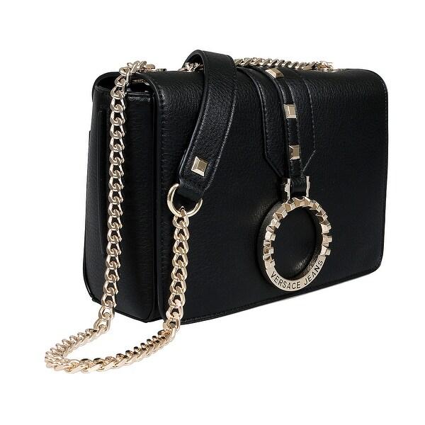 12462939cdca Shop Versace EE1VTBBA5 E899 Black Shoulder Bag - 9-6.5-3 - On Sale ...