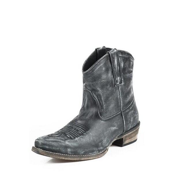 133fab0538b Roper Western Boots Womens Ankle Snip Toe Black