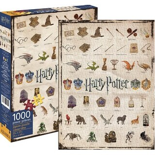 Harry Potter Icons 1000-Piece Puzzle - multi