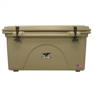 ORCA ORCT075 Roto-Molded Cooler, Tan, 75 Qt