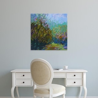 Easy Art Prints Jane Schmidt's 'Colorfield #60' Premium Canvas Art