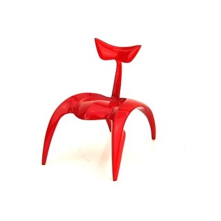 Take a Seat Racing Red Chair Resin Mint in Box - 0