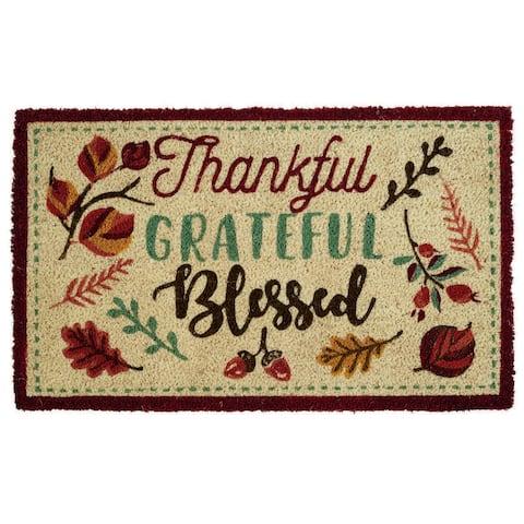 DII Fall Holiday Doormat