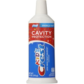 Crest Neat Squeeze Children's Sparkle Fun Toothpaste 6 oz