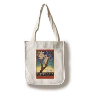 Shop Qantas - Australia (Mayo) 1953 Vintage Ad (100% Cotton Tote Bag -  Reusable) - Free Shipping On Orders Over  45 - Overstock - 18358411 64fabb3cd