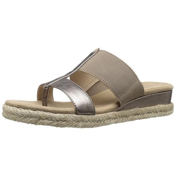 Adrienne Vittadini Footwear Women's Codie Wedge Sandal