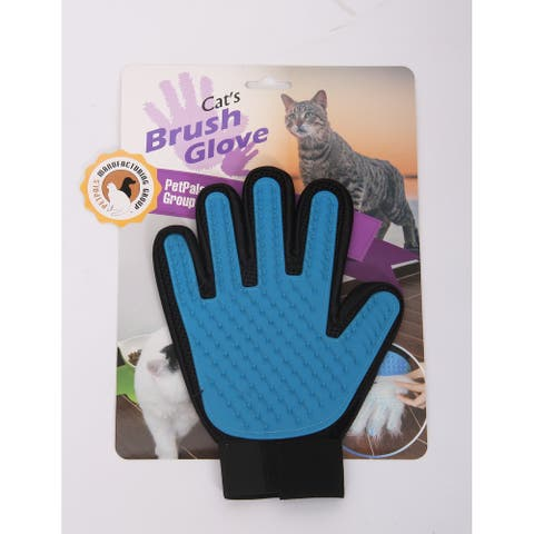 "Magic Gloves - BLUE/BLK, Soft Gloves,7""x9"" - Blue"