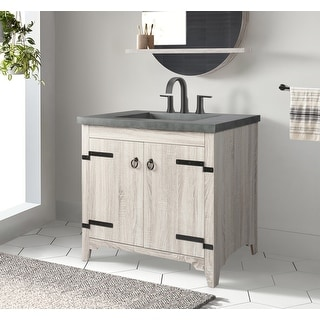 Link to Saint Birch Saint Birch Belize 35-inch Bathroom Vanity Base Only Similar Items in Bathroom Furniture