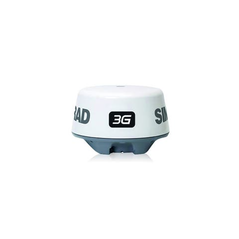 Simrad 000-10420-001 3G Waterproof Broadband Radar with 33 Cable - White