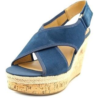 Franco Sarto Womens Taylor Peep Toe Special Occasion Platform Black Size 90